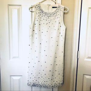 Eliza J rhinestones shift dress